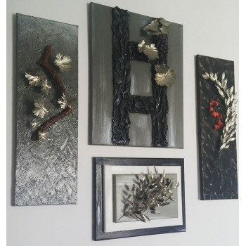 Home decoration metal collage