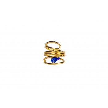 Greek Blue Santorini Ring