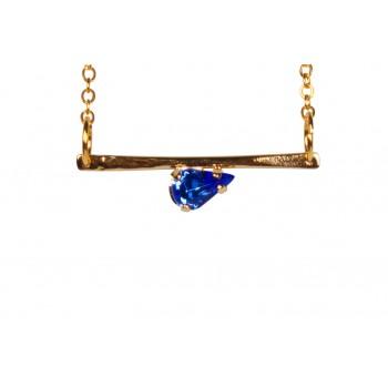 Greek Blue Paros Necklace