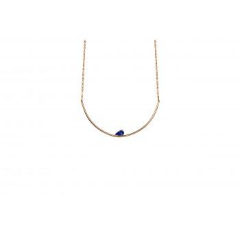 Greek Blue Antiparos Necklace