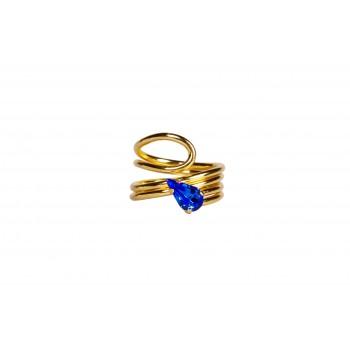 Greek Blue Mykonos Ring